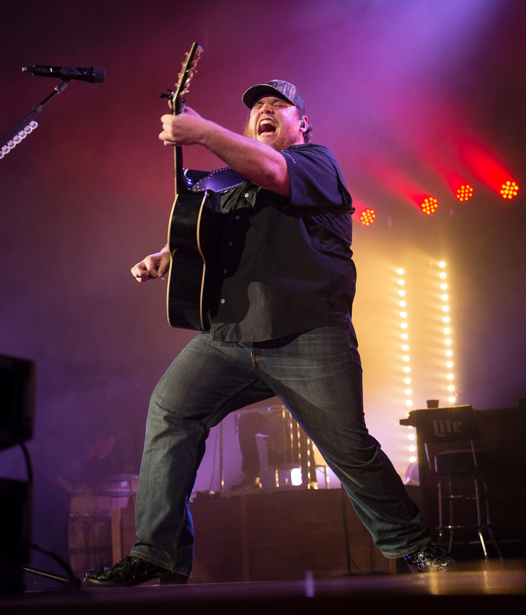 Luke Combs With Ashley McBryde In Concert