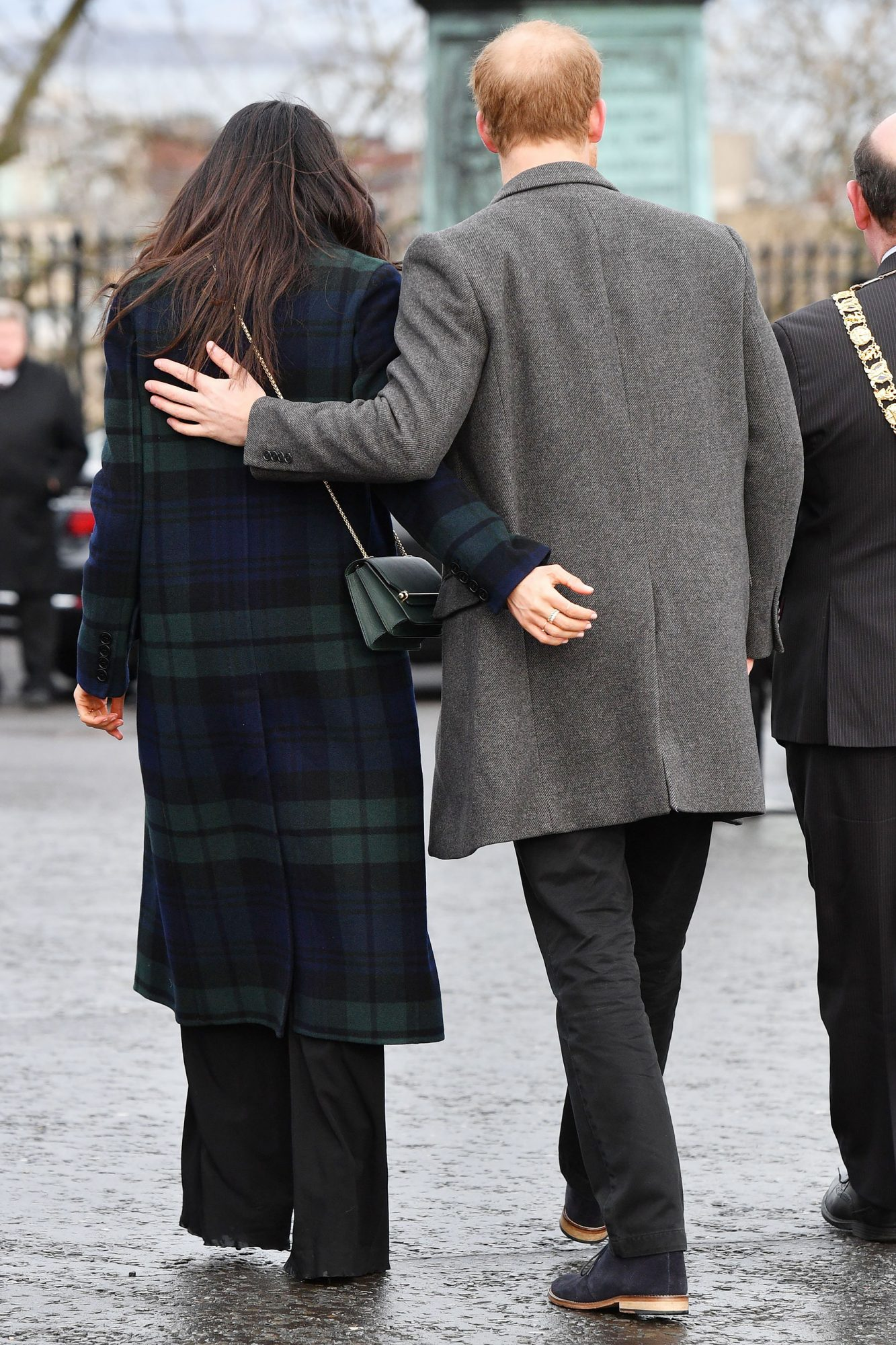 Prince Harry and Meghan Markle visit to Edinburgh, Scotland - 13 Feb 2018