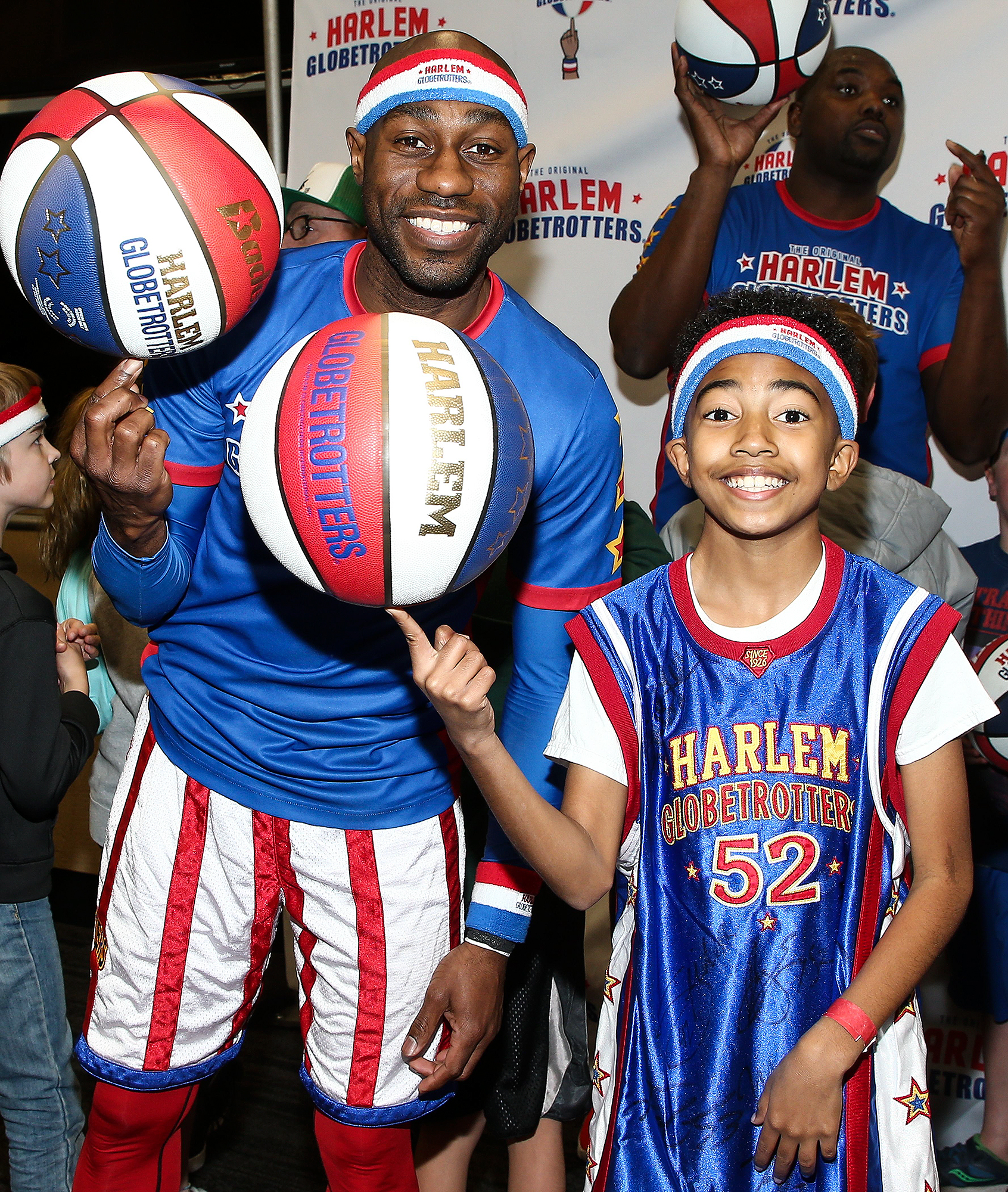 EXCLUSIVE, Celebrities attend Harlem Globetrotters game, Los Angeles, USA - 25 Feb 2018