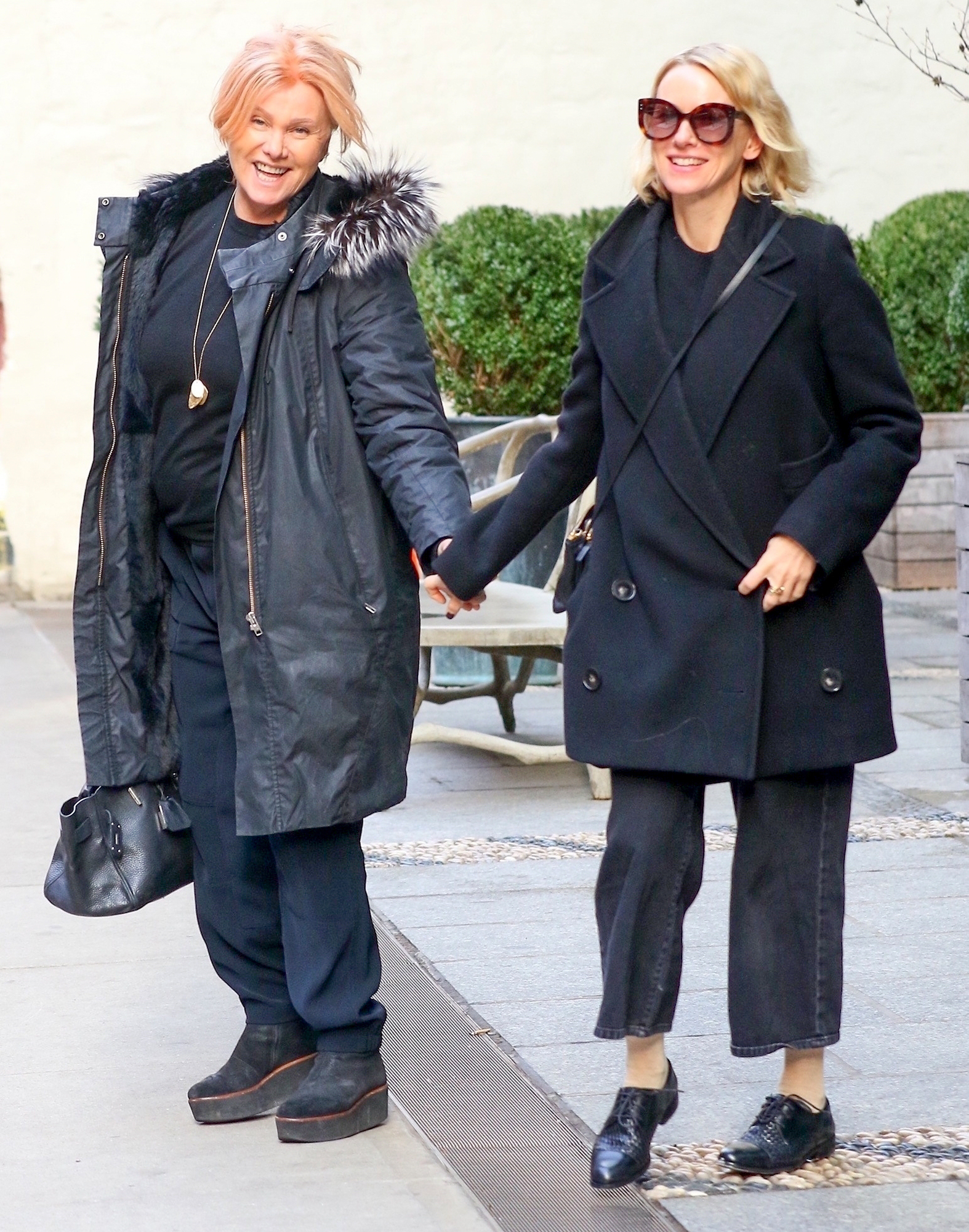 *EXCLUSIVE* Naomi Watts and Deborra-lee Furness have an all Australian Lunch in Soho