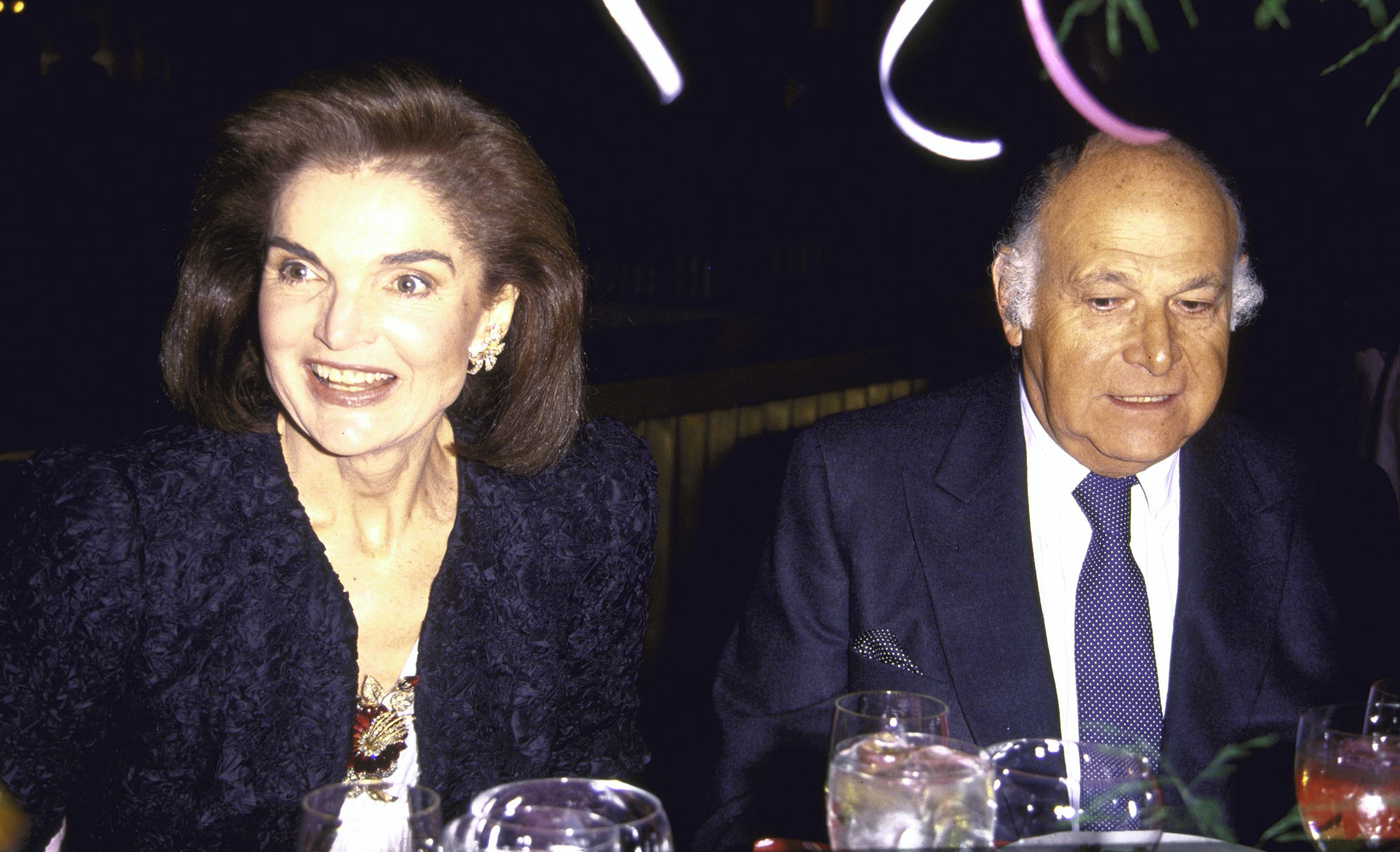 Jacqueline Kennedy Onassis And Maurice Tempelsman