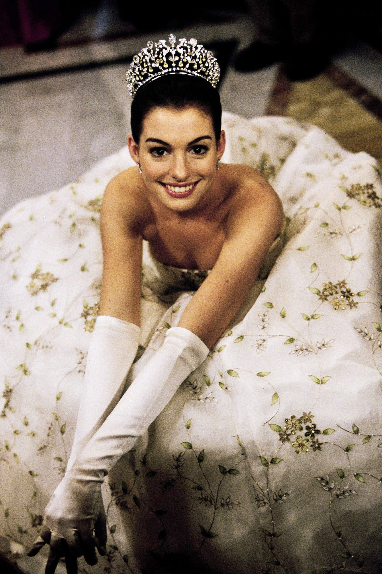 ANNE HATHAWAY THE PRINCESS DIARIES (2001)