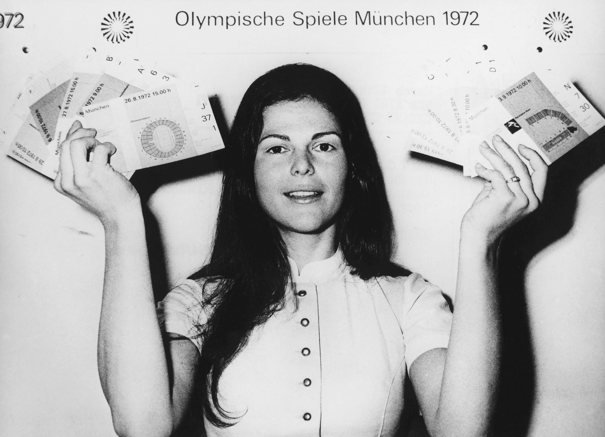 Silvia Sommerlath, Hostess On The Olympic Games Of Munich In 1972