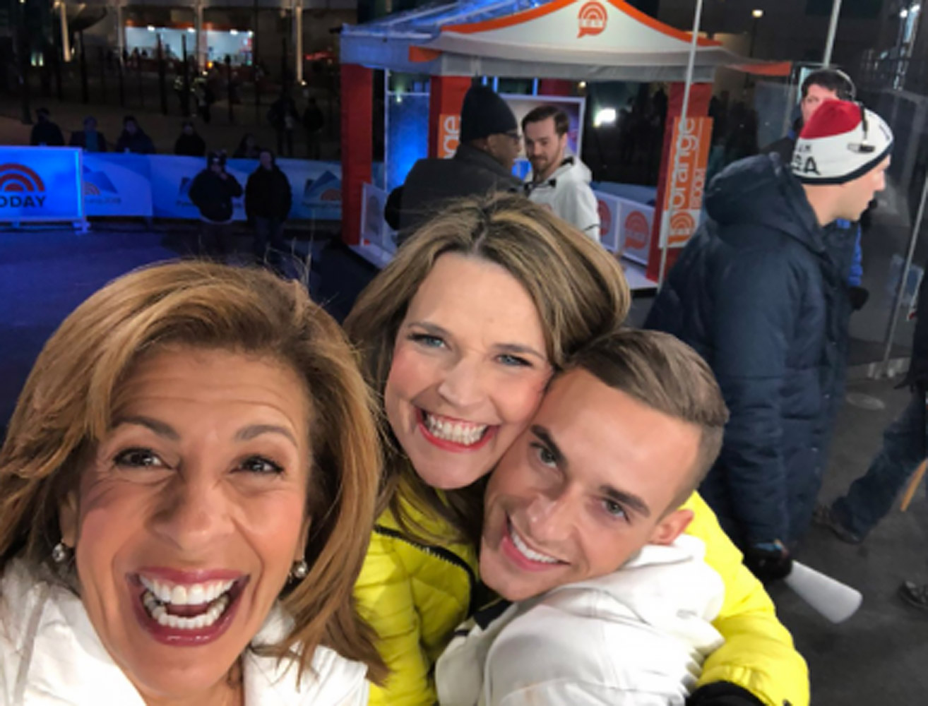 Today Show behind the Scenes OlympicsPhoto: Today
