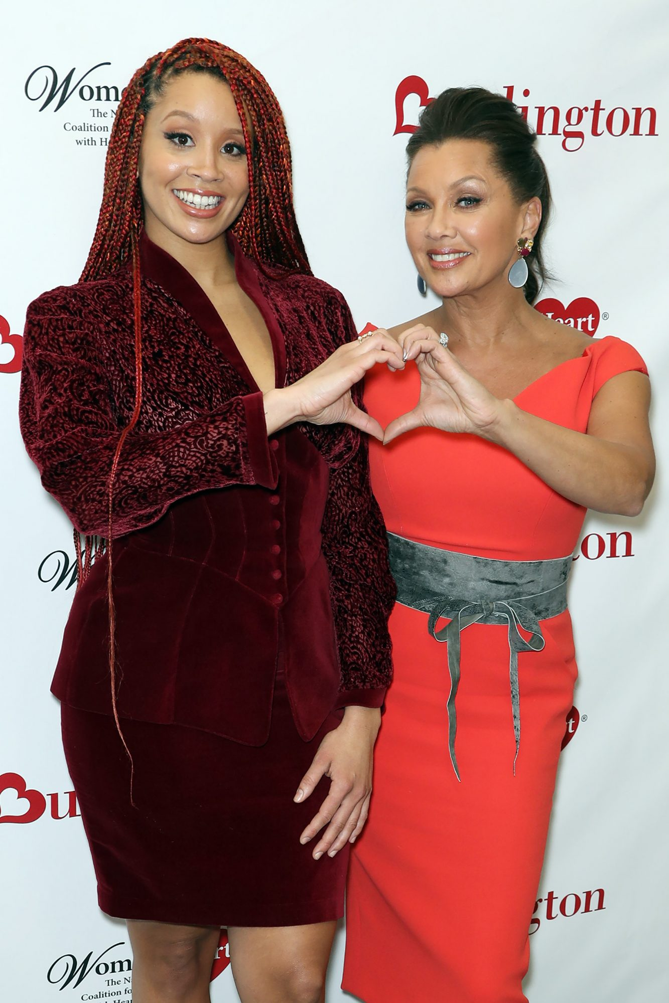 Vanessa Williams and Jillian Hervey Team Up With Burlington Stores and WomenHeart to  Knock Out Heart Disease