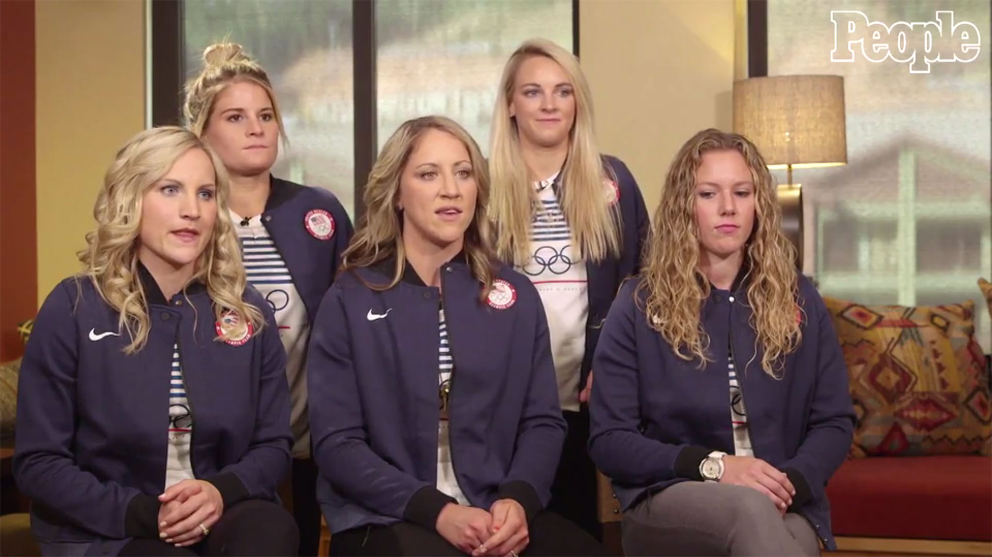 US Women's hockey team