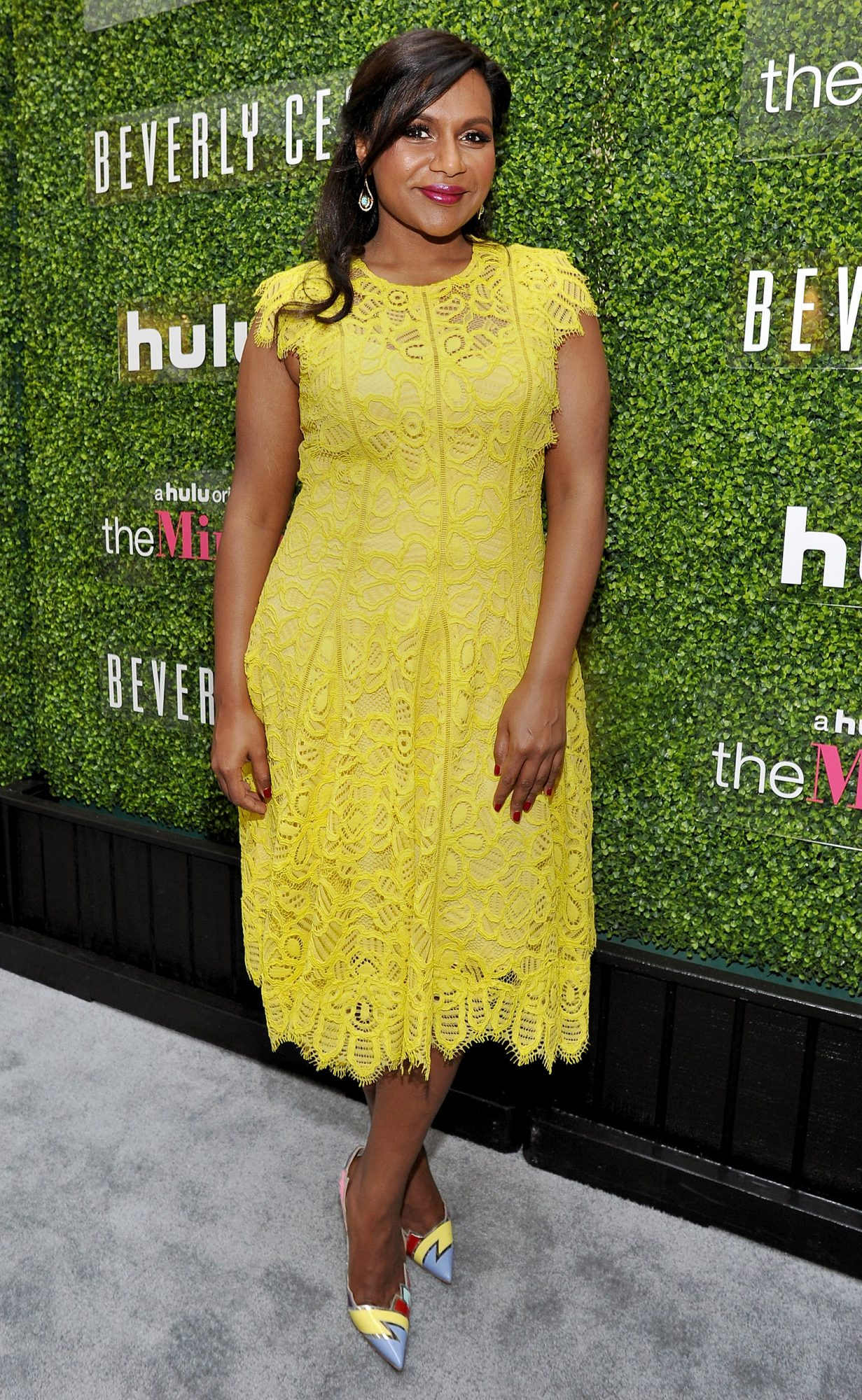 Beverly Center Presents The Mindy Project Costume Conversation with Mindy Kaling And Salvador Perez