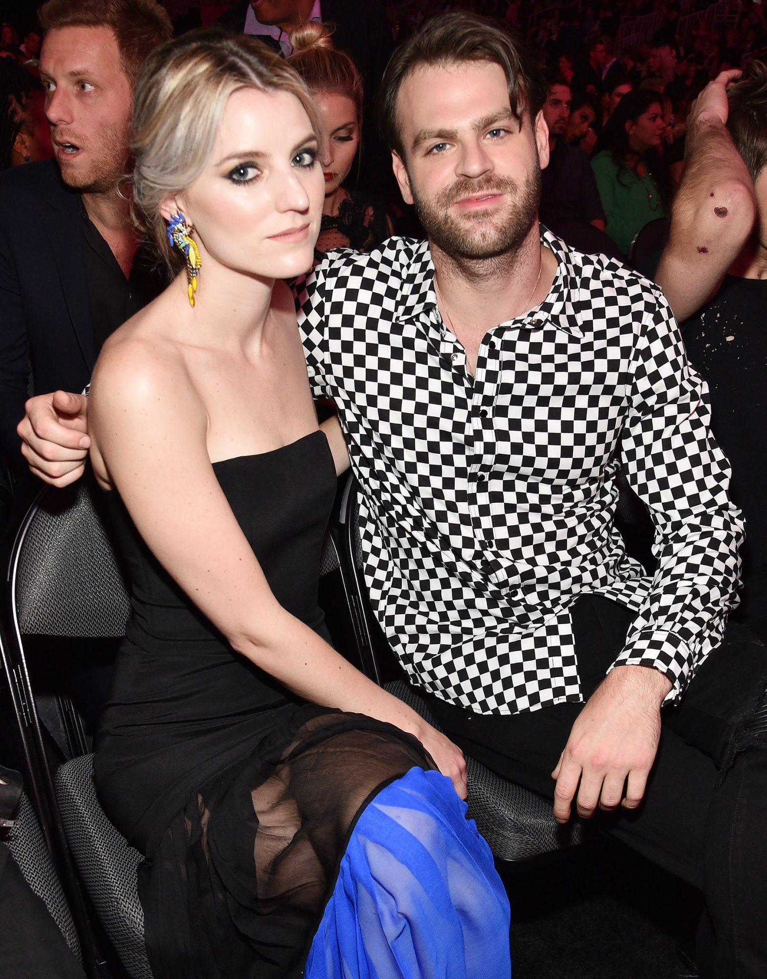 """Pall's then-girlfriend shared photographic evidence ofthe Grammy-winning deejay's - who is one half of the powerhouse EDM-pop duo The Chainsmokers- apparent indiscretion when photos of him kissing another woman were captured at a residential location by CCTV, in January 2018.                             """"Alex is disgusting. Men are trash. Don't ever forget it,"""" Woodward wrote on one of the surveillance shots, which Woodward later accused Pall of reporting to Instagram after it was deleted by the social network site.                             """"They'll look you in the eyes and tell you they love you. Then destroy you without a second thought,"""" she captioned another snap.                             They have since broken up. Pall is now dating model Katelyn Byrd."""