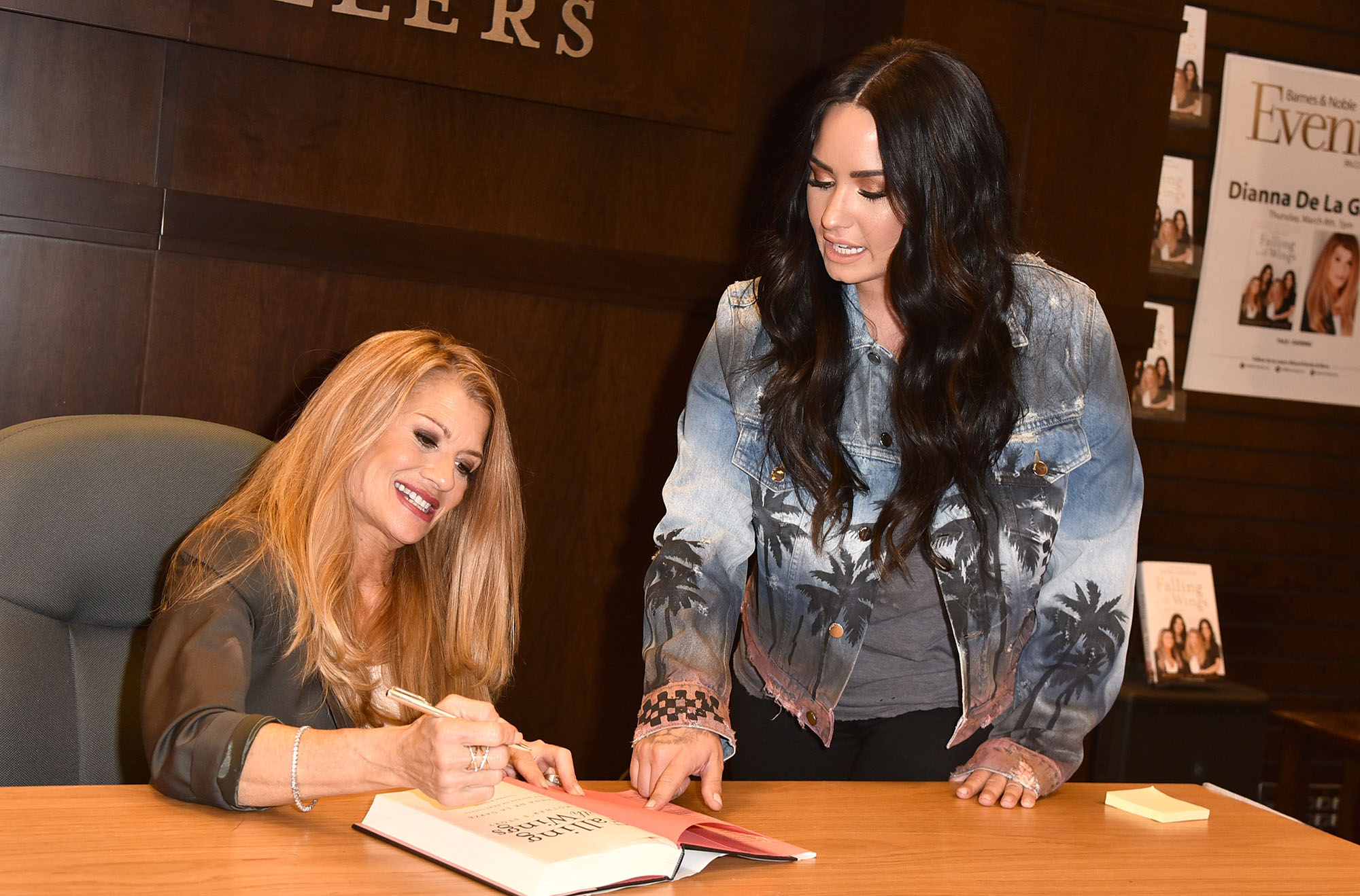 "Dianna De La Garza Signs Copies Of Her New Book ""Falling with Wings"""