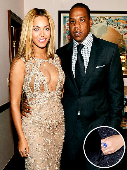 JAY Z TO BEYONCé: BLUE DIAMOND