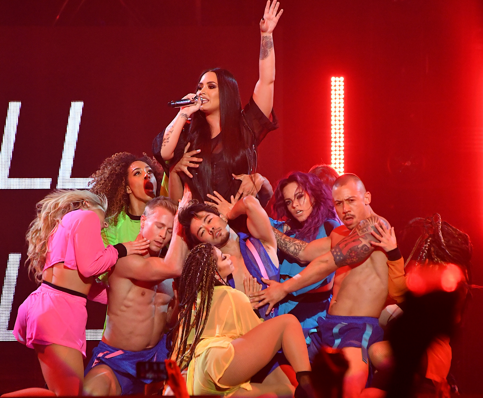Demi Lovato, DJ Khaled and Kehlani In Concert At MGM Grand In Las Vegas