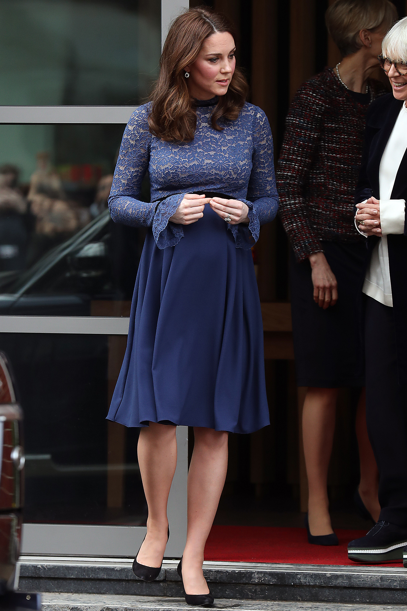 The Duchess Of Cambridge Opens New Place2B Headquarters  -  March 07, 2018