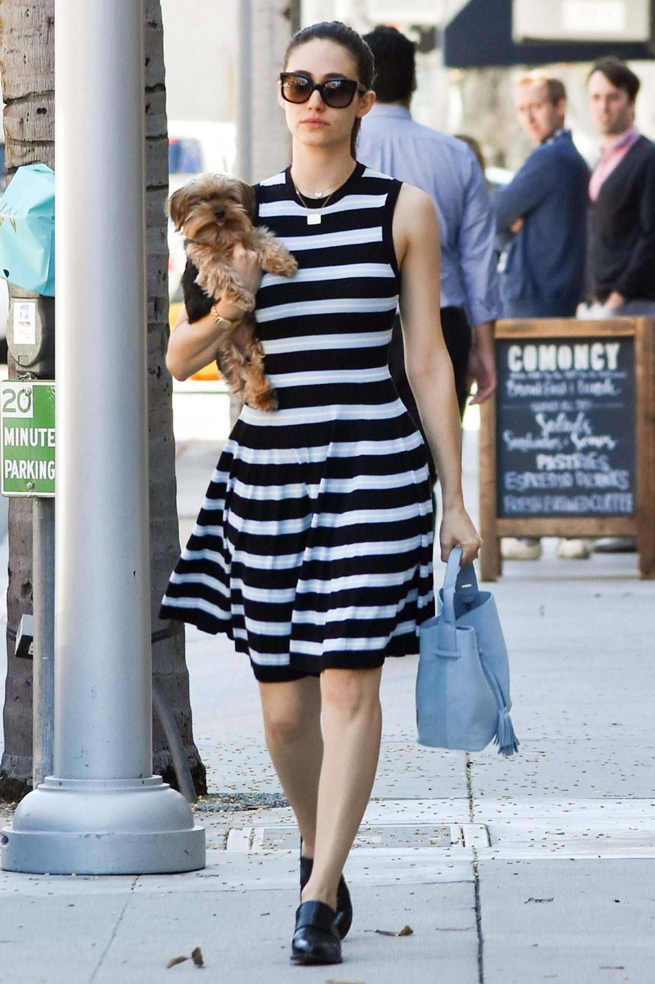 EXCLUSIVE: Emmy Rossum spotted in LA
