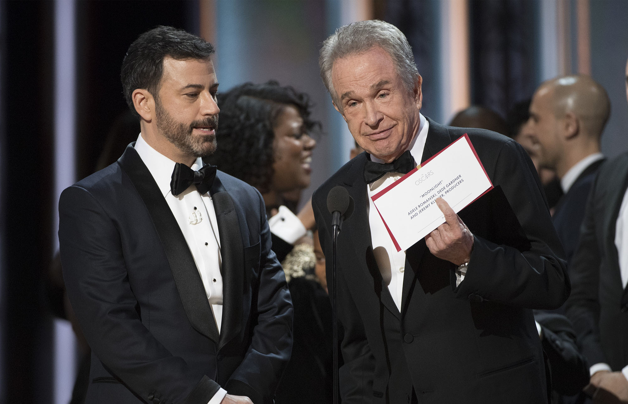 Grab Cut Insert Cut ABC's Coverage Of The 89th Annual Academy Awards