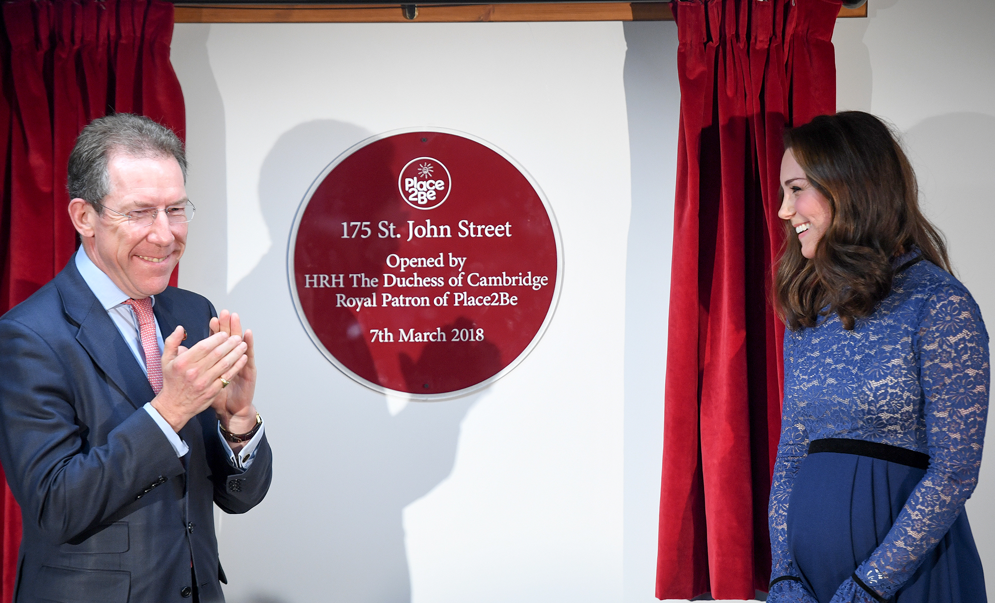 The Duchess Of Cambridge Opens New Place2B Headquarters