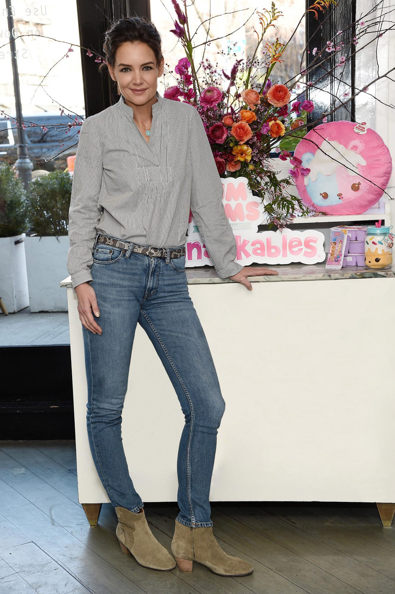 Katie Holmes attends Num Noms `Snackables` Lunch