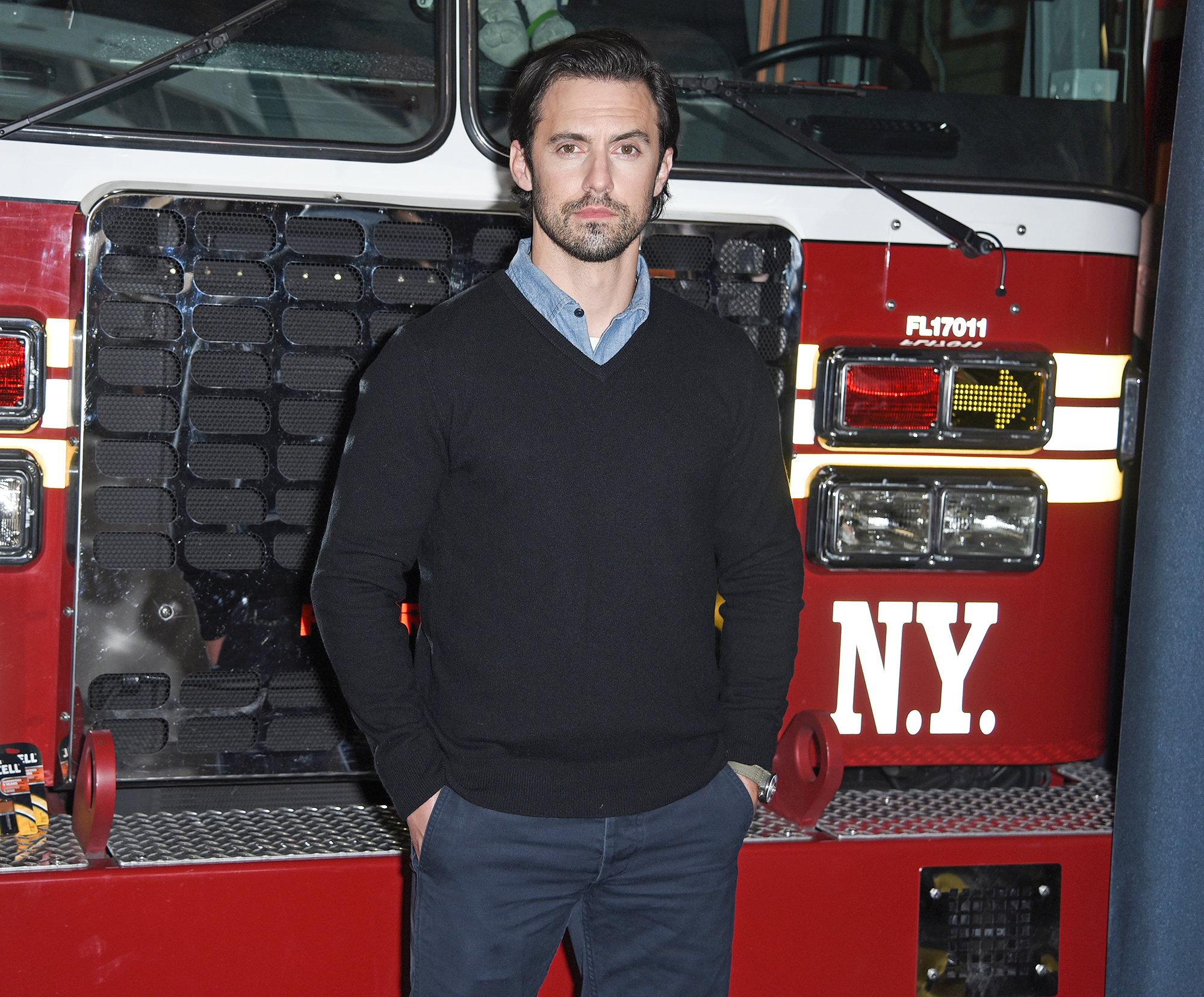 Milo Ventimiglia joins Duracell and the FDNY, NYC