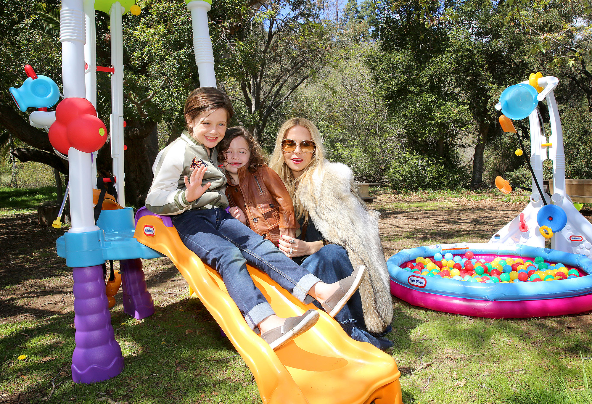 Rachel Zoe Celebrates Son Skyler's Birthday with Little Tikes x Fun Zone