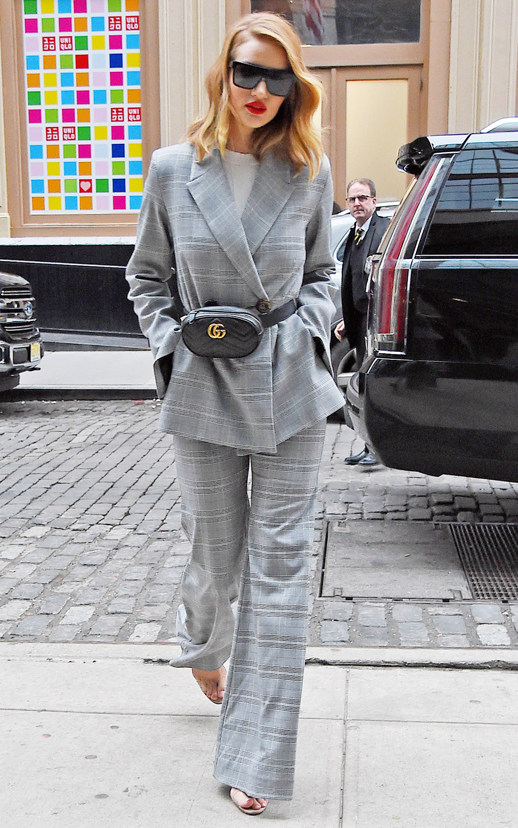 BuzzFoto Celebrity Sightings In New York - March 28, 2018
