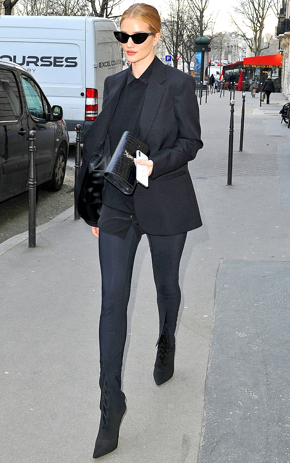 Rosie Huntington Whiteley spotted out and about