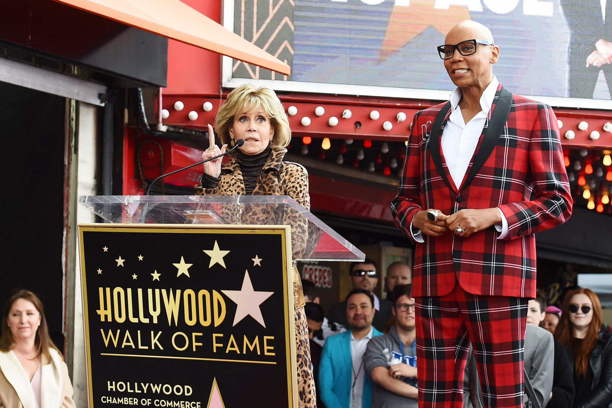 Hollywood Chamber of Commerce Honors RuPaul With Star on Hollywood Walk of Fame