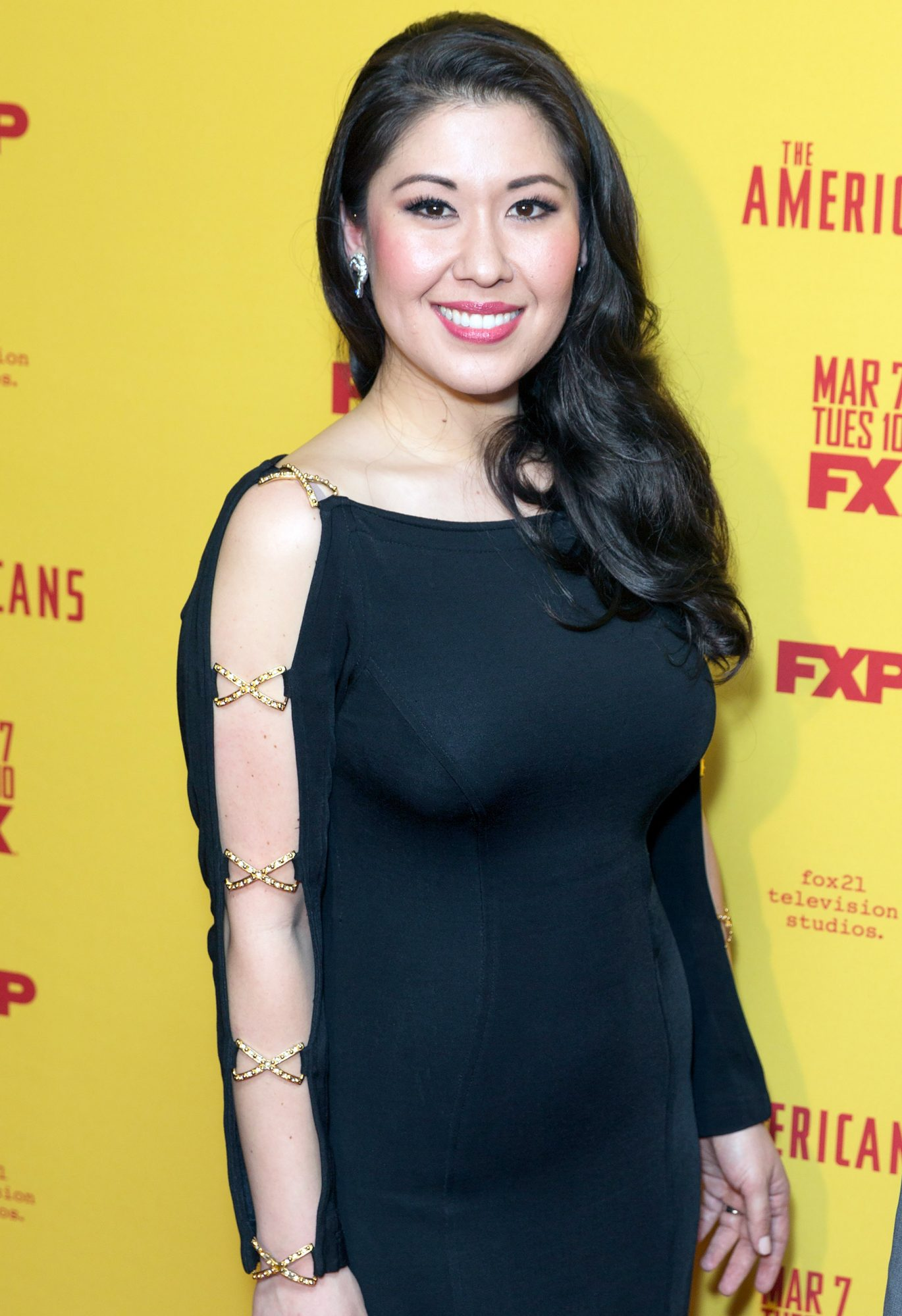 Ruthie Ann Miles attends FX The Americans Season 5 premiere