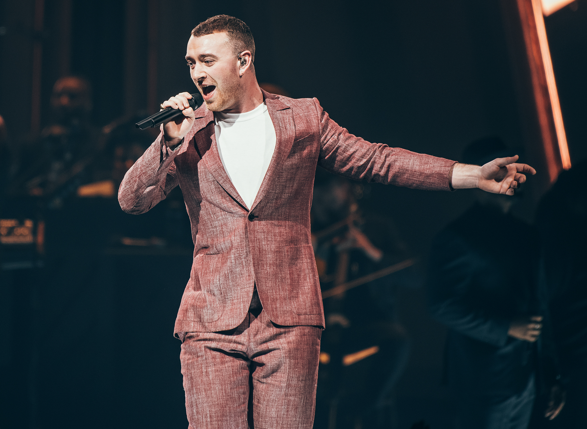 Sam Smith Performs At Sheffield Arena