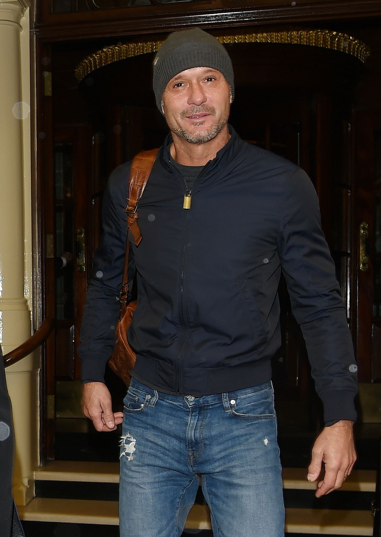 EXCLUSIVE: Tim McGraw And Wife Faith Hill Seen in Dublin