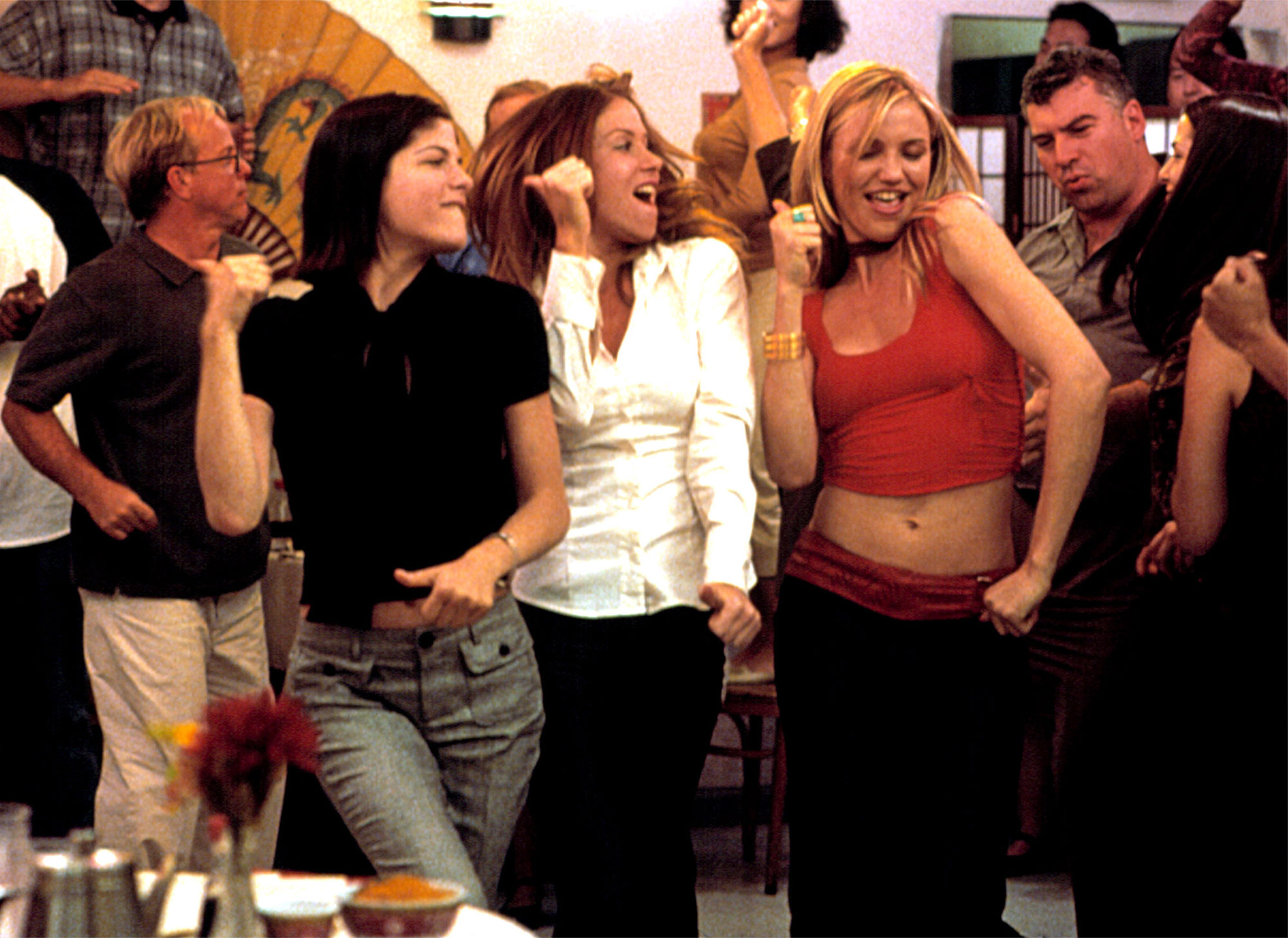 THE SWEETEST THING, Selma Blair, Christina Applegate, Cameron Diaz, 2002 (c) Columbia/courtesy Evere