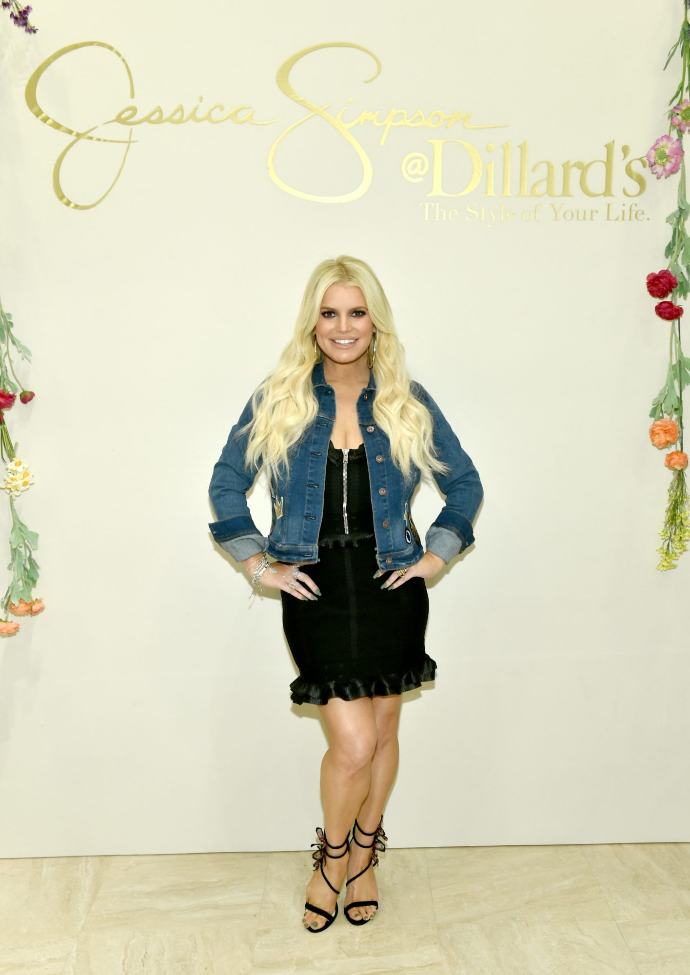 Jessica Simpson Hosts Army Wives and Kids for a Spring Style Event in Nashville