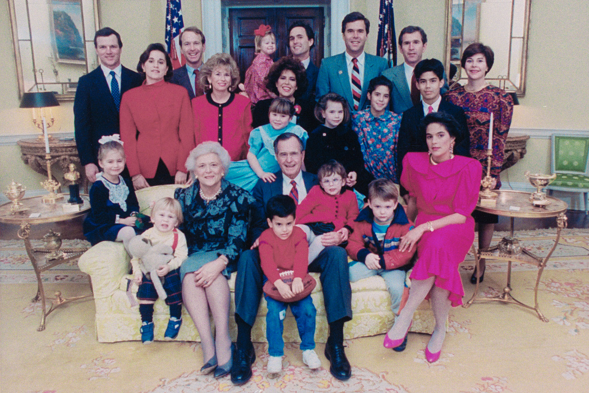President Bush's Family Portrait