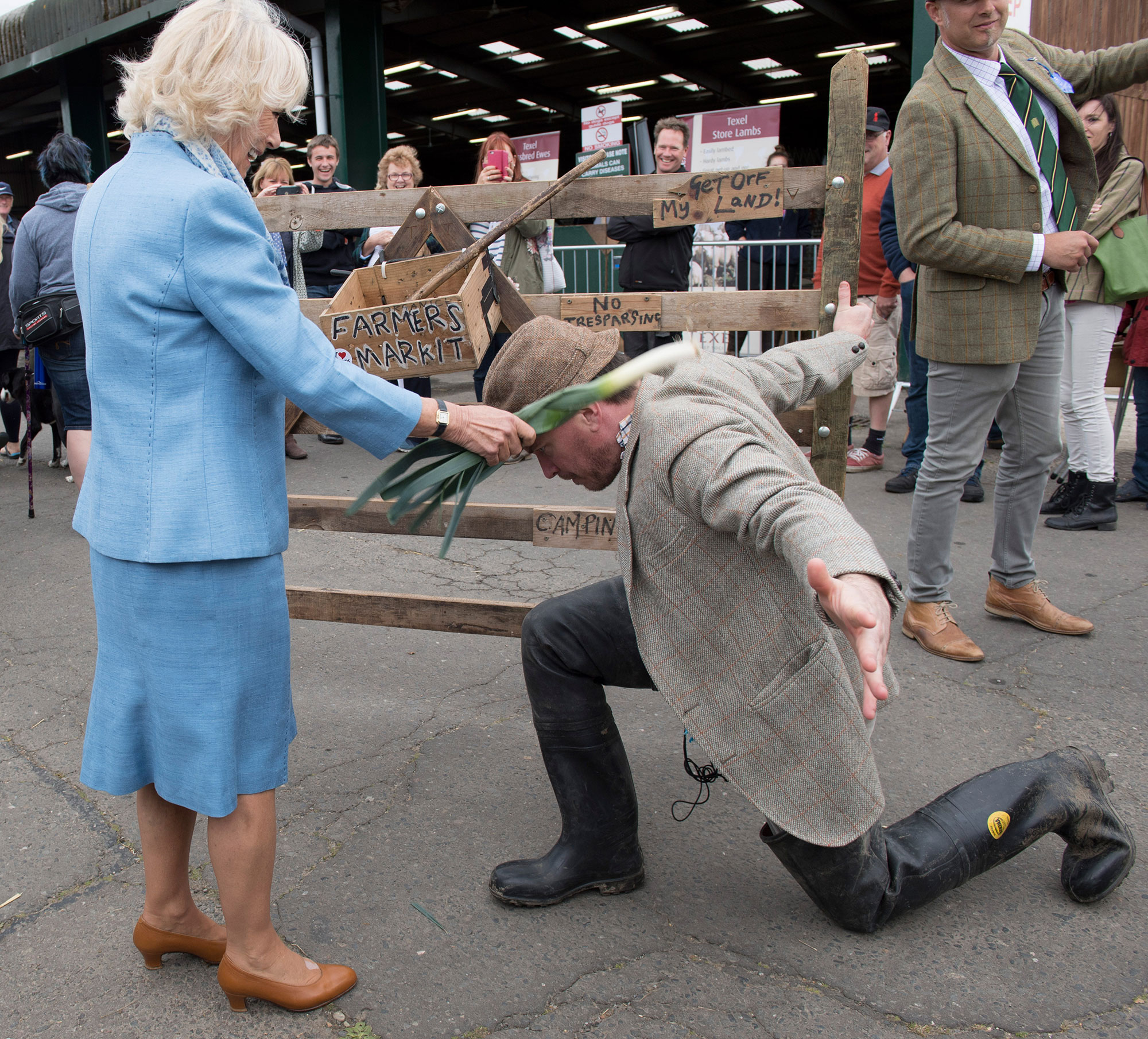 The Duchess of Cornwall Attends The South Of England Show