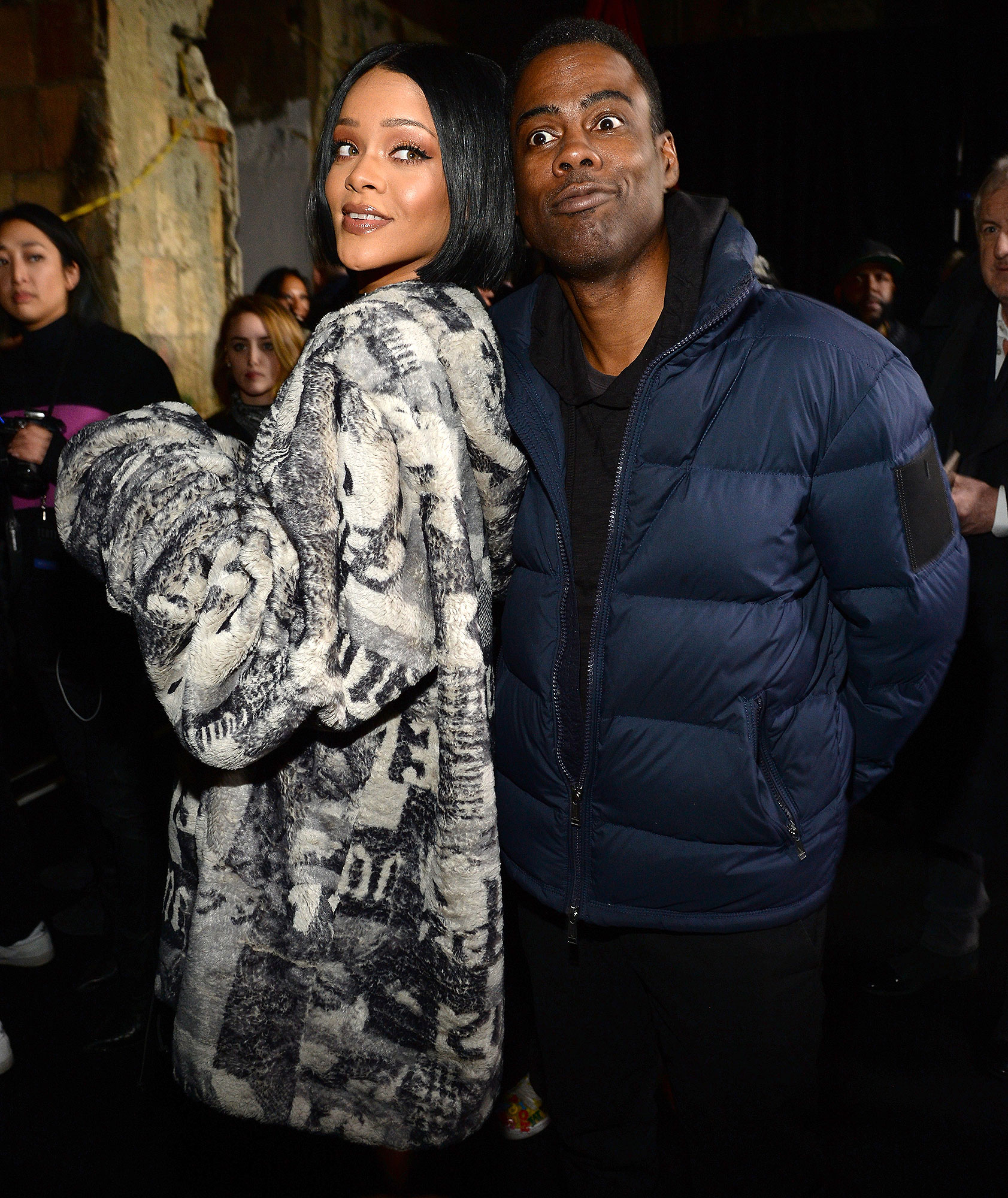 WHEN RIHANNA DIDN'T EVEN REALIZE CHRIS ROCK WAS FLIRTING WITH HER