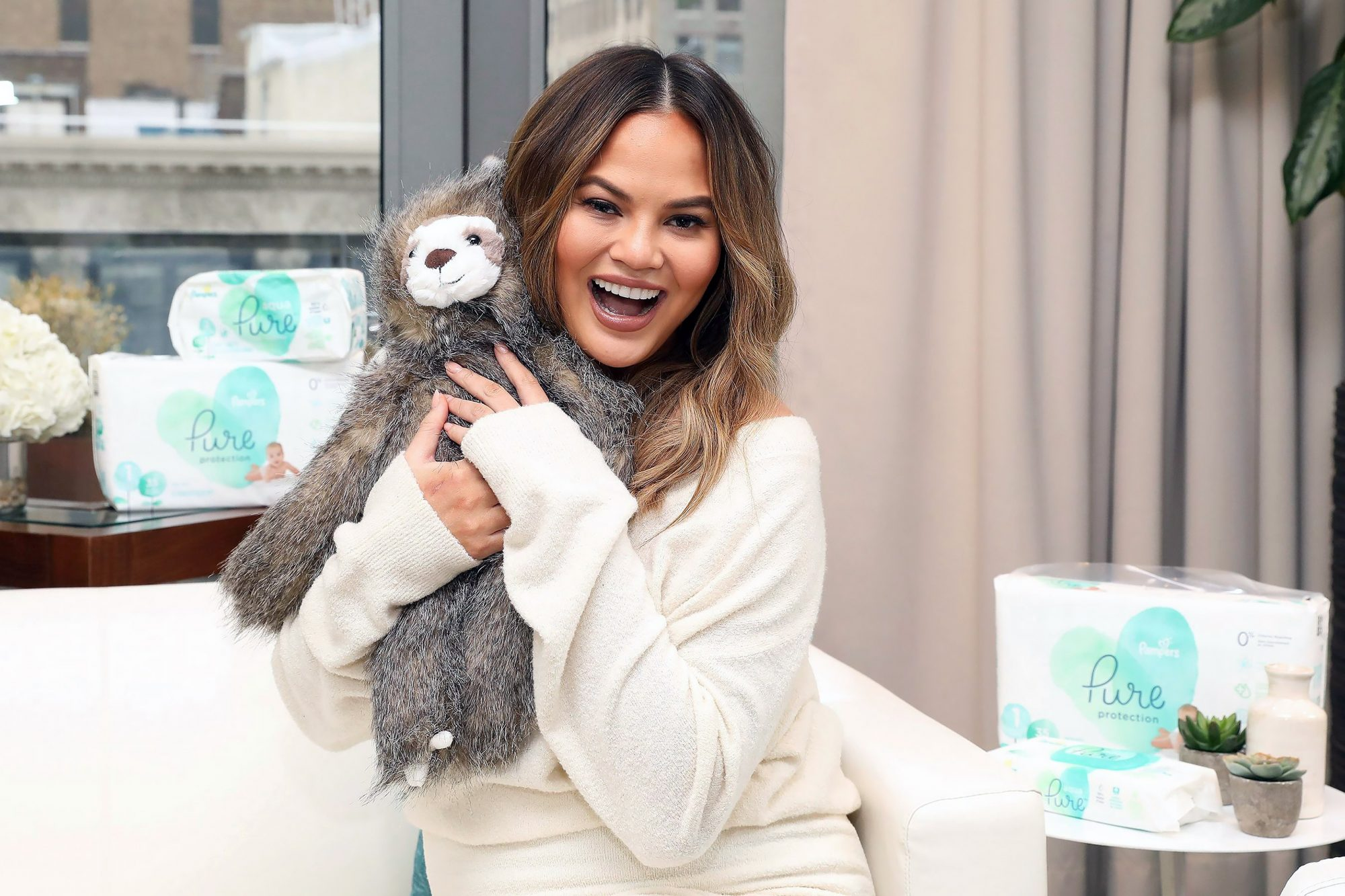 Pampers Pure Media Day, New York, USA - 27 Mar 2018