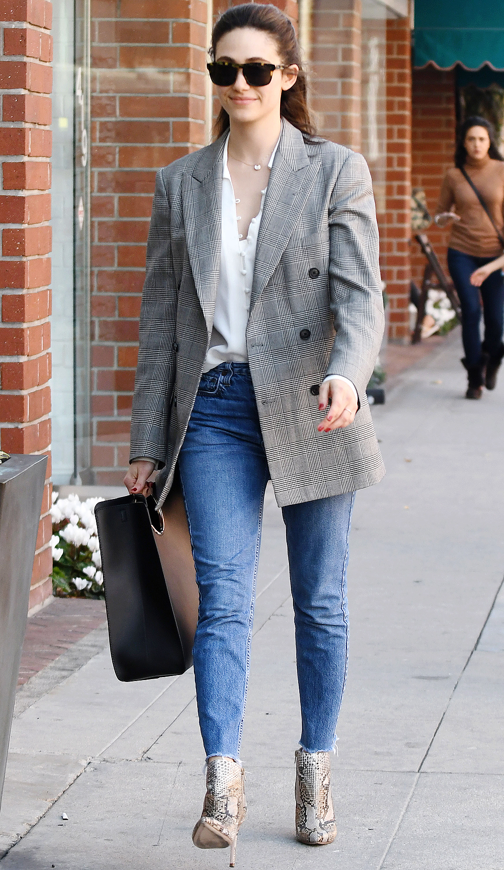 Emmy Rossum out and about, Los Angeles, USA - 08 Mar 2018