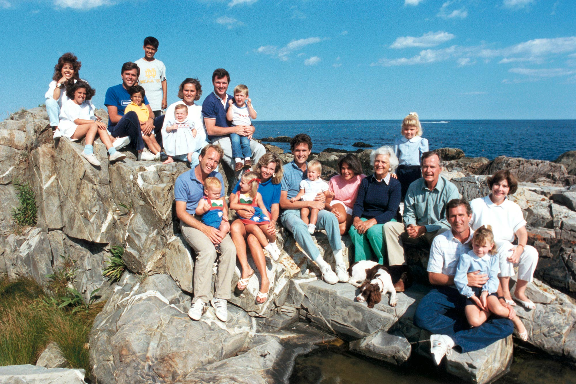 Bush Family on Vacation