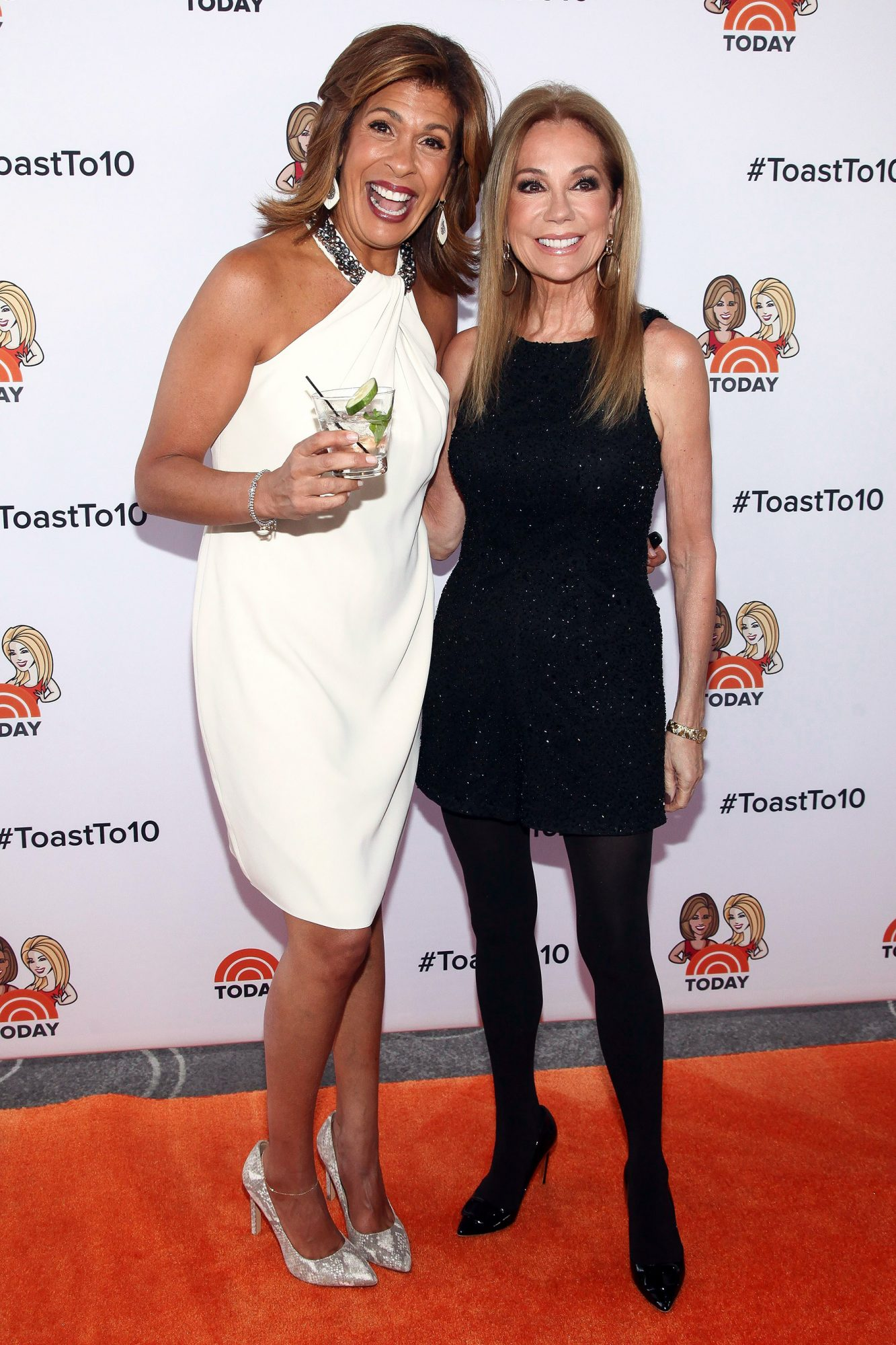 """Kathie Lee and Hoda"" 10th Anniversary Party, New York, USA - 04 Apr 2018"