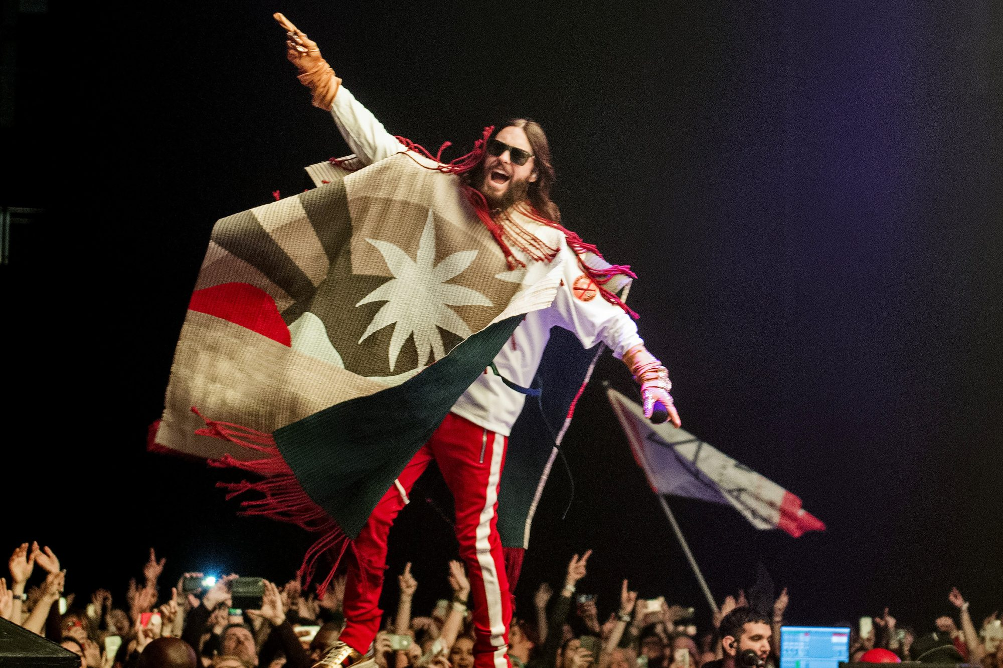 Thirty Seconds To Mars Perform At The O2 Arena