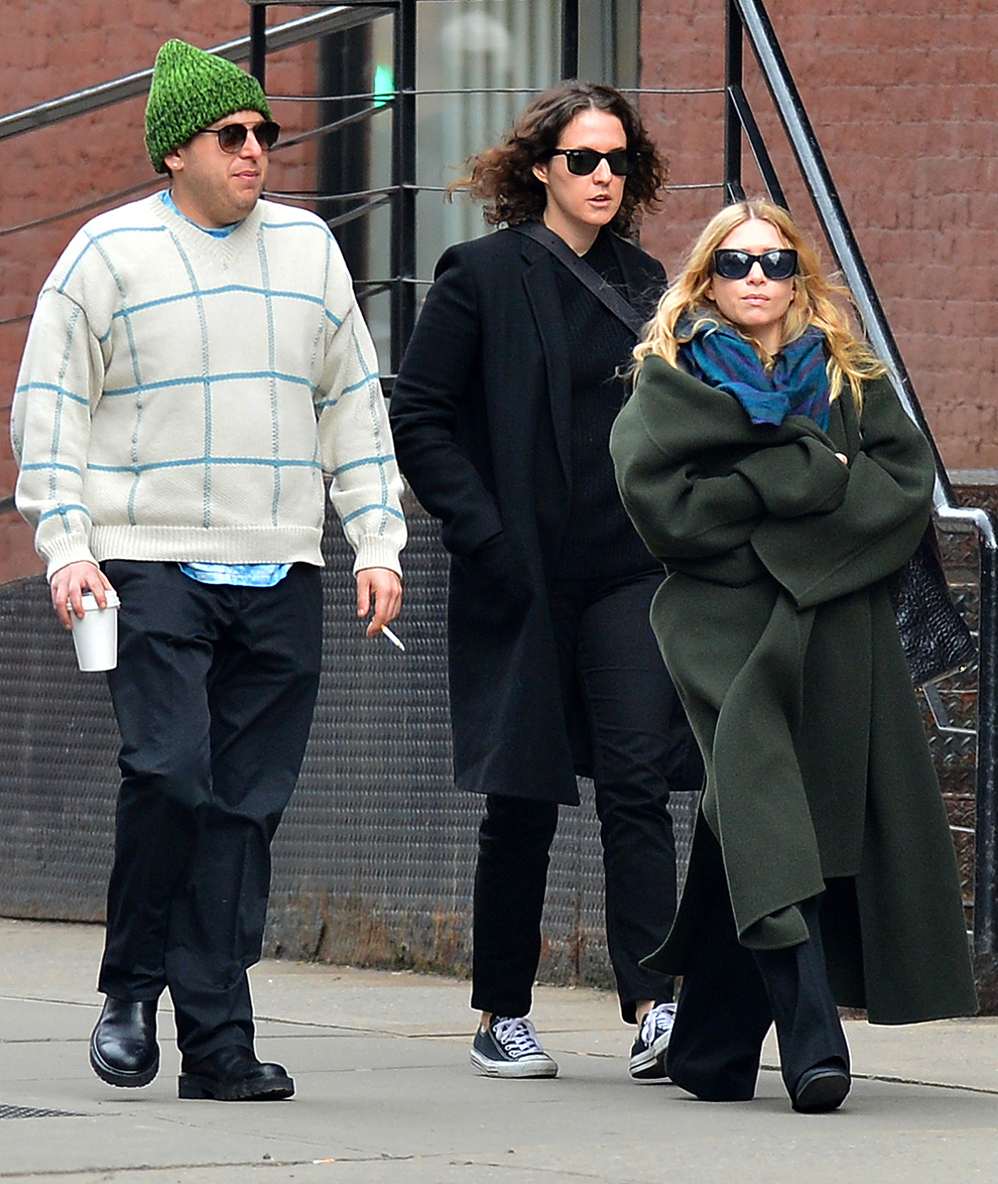 EXCLUSIVE: Jonah Hill and Ashley Olsen are Spotted Out on a Stroll in New York City