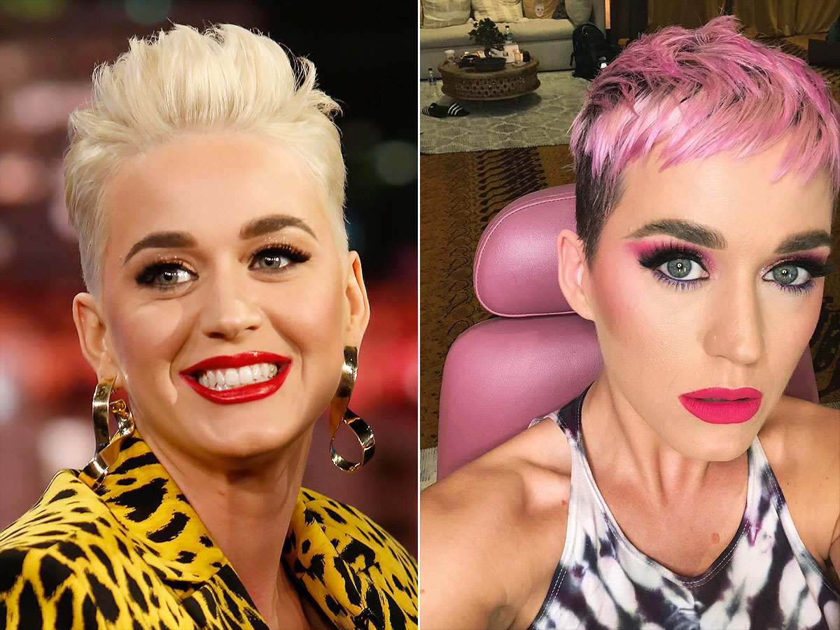 Katy Perry Dyed Her Hair Pink All About Her New Look People Com