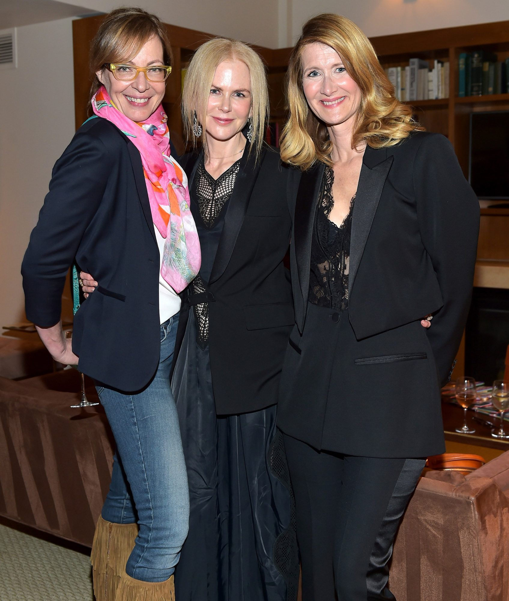 InStyle and Brahmin's Badass Women Dinner Hosted by Laura Dern