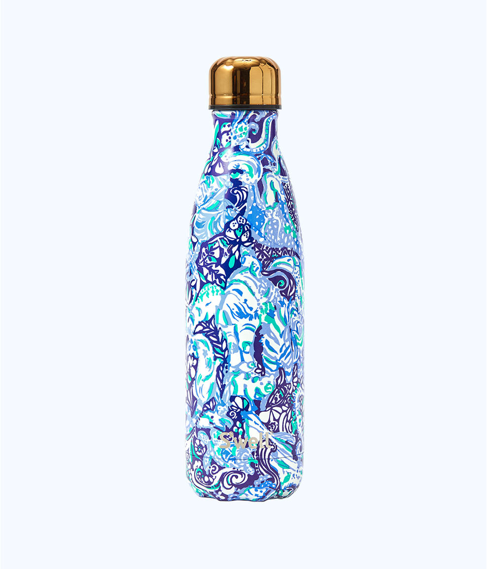 Printed S'well water bottle from Lilly Pulitzer