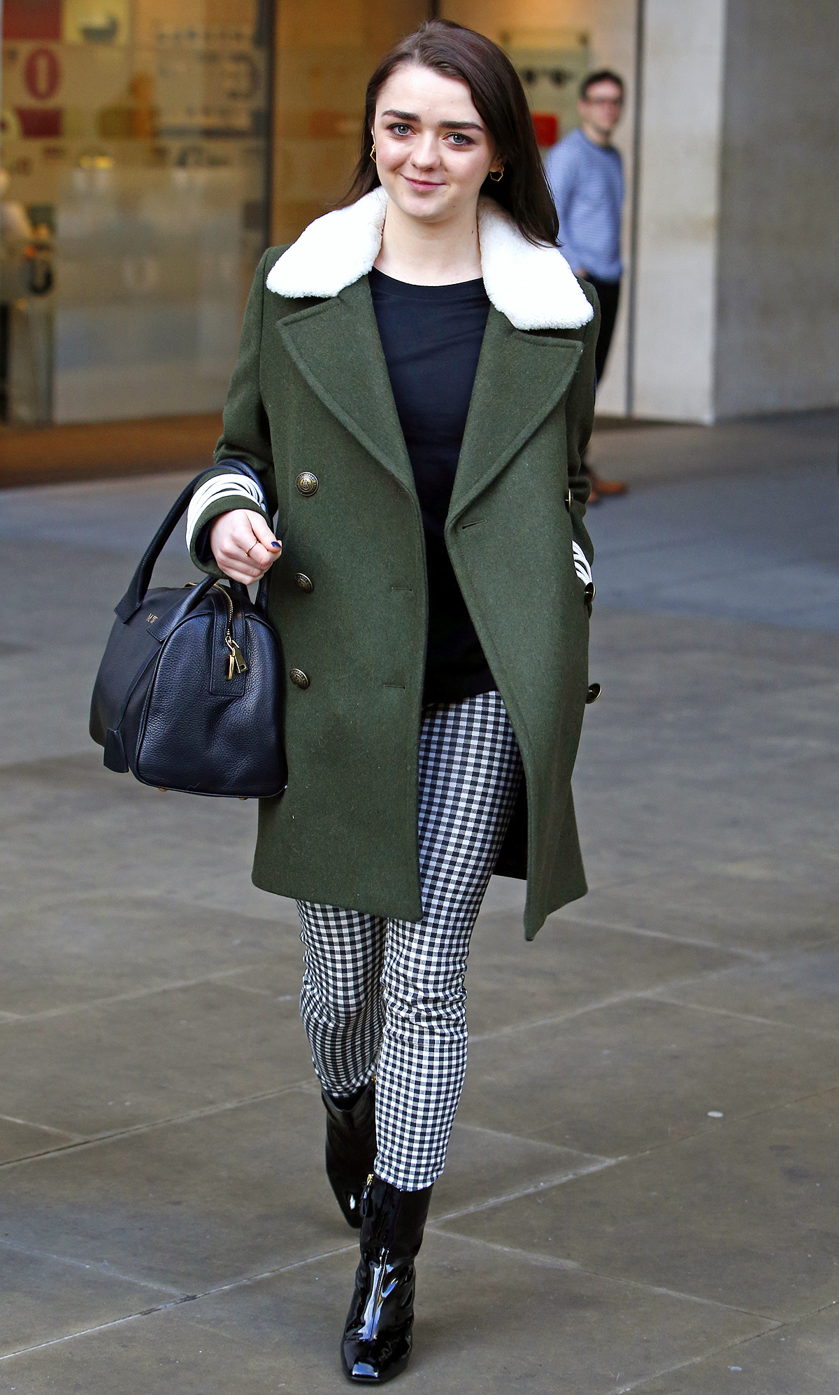 Maisie Williams out and about, London, UK - 17 Jan 2017