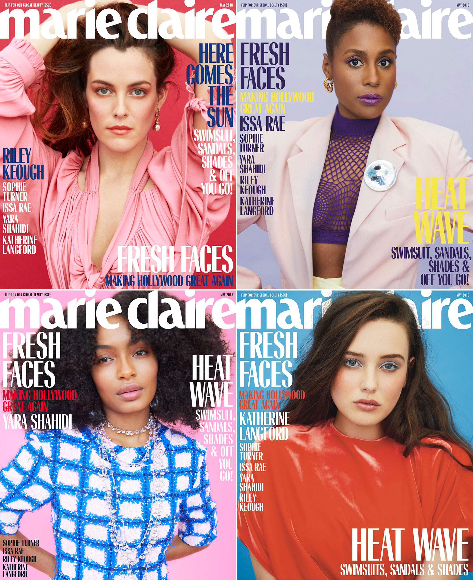 Marie Claire coversCredit: Erik Madigan Heck for Marie Claire