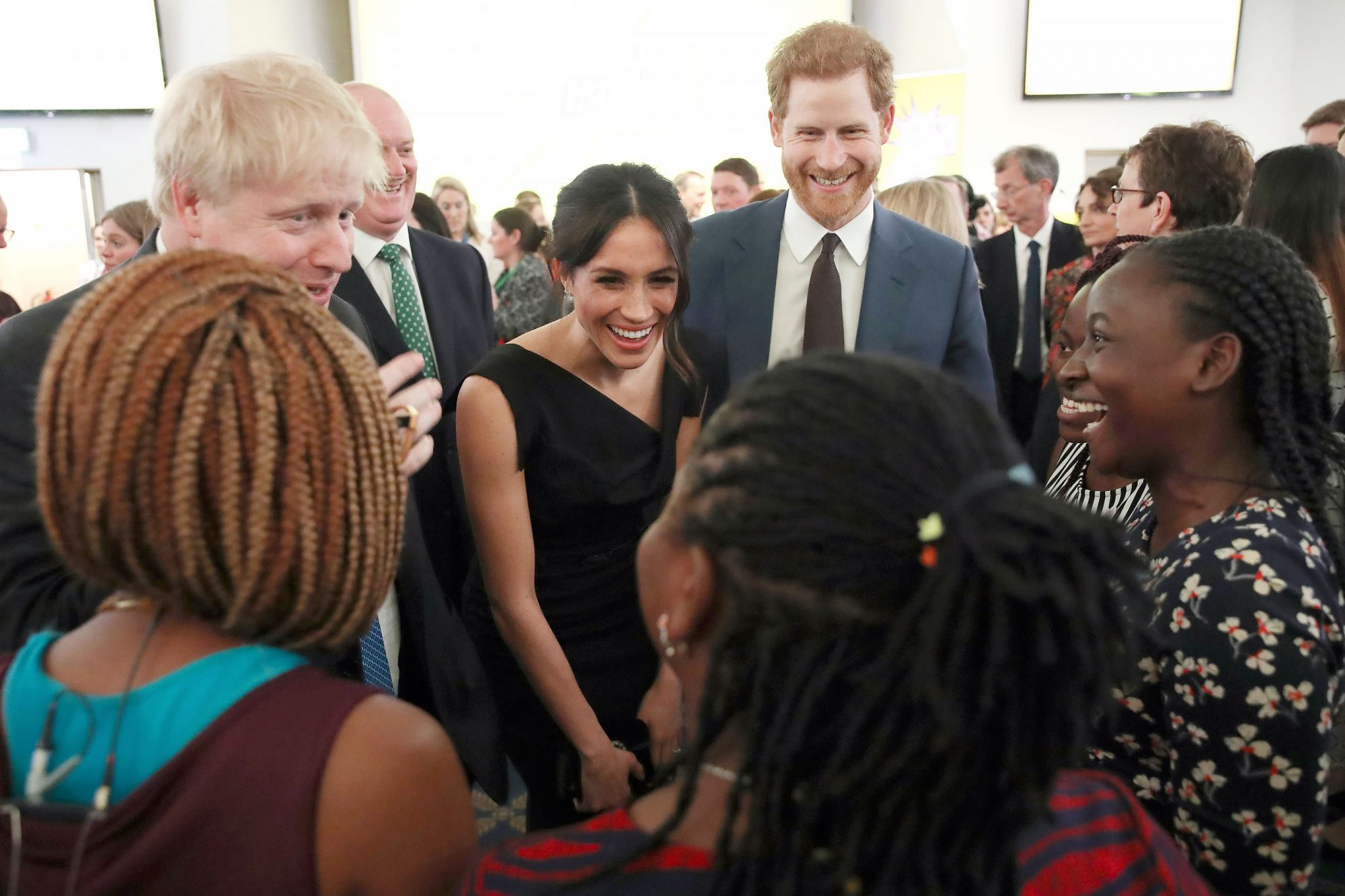 Women's Empowerment reception, Commonwealth Heads of Government Meeting, London, UK - 19 Apr 2018