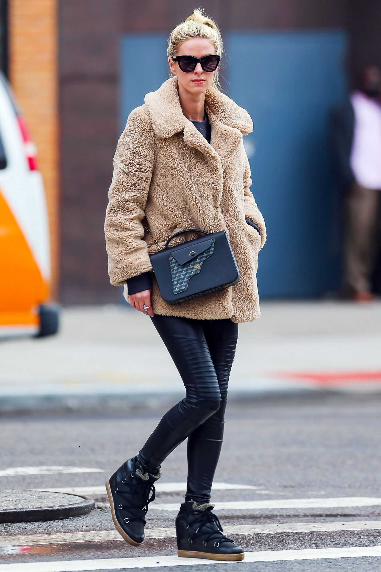 EXCLUSIVE: Nicky Hilton is Pictured Out on a Stroll in New York City.