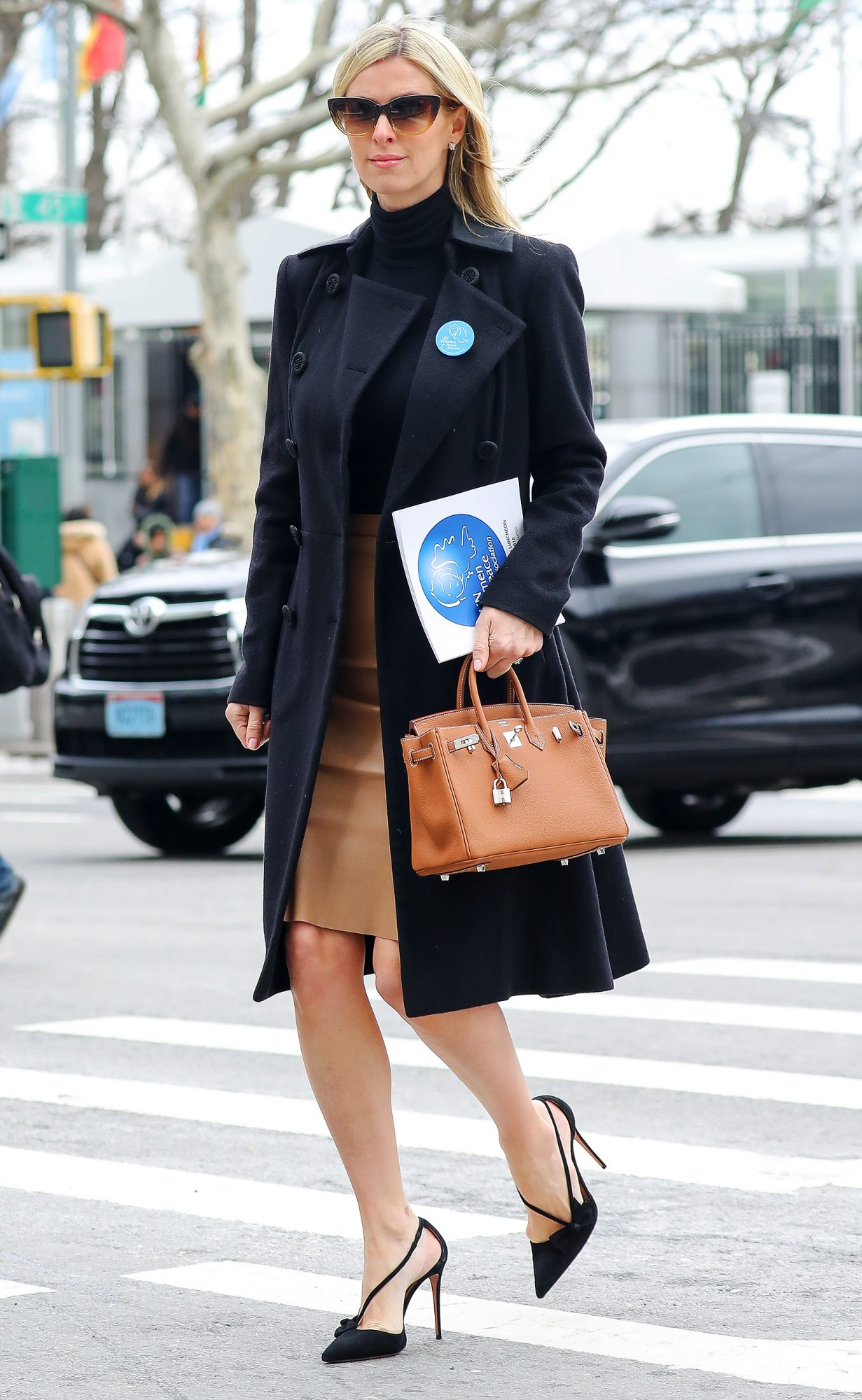 Nicky Hilton seen leaving the International Women's Day at the United Nations