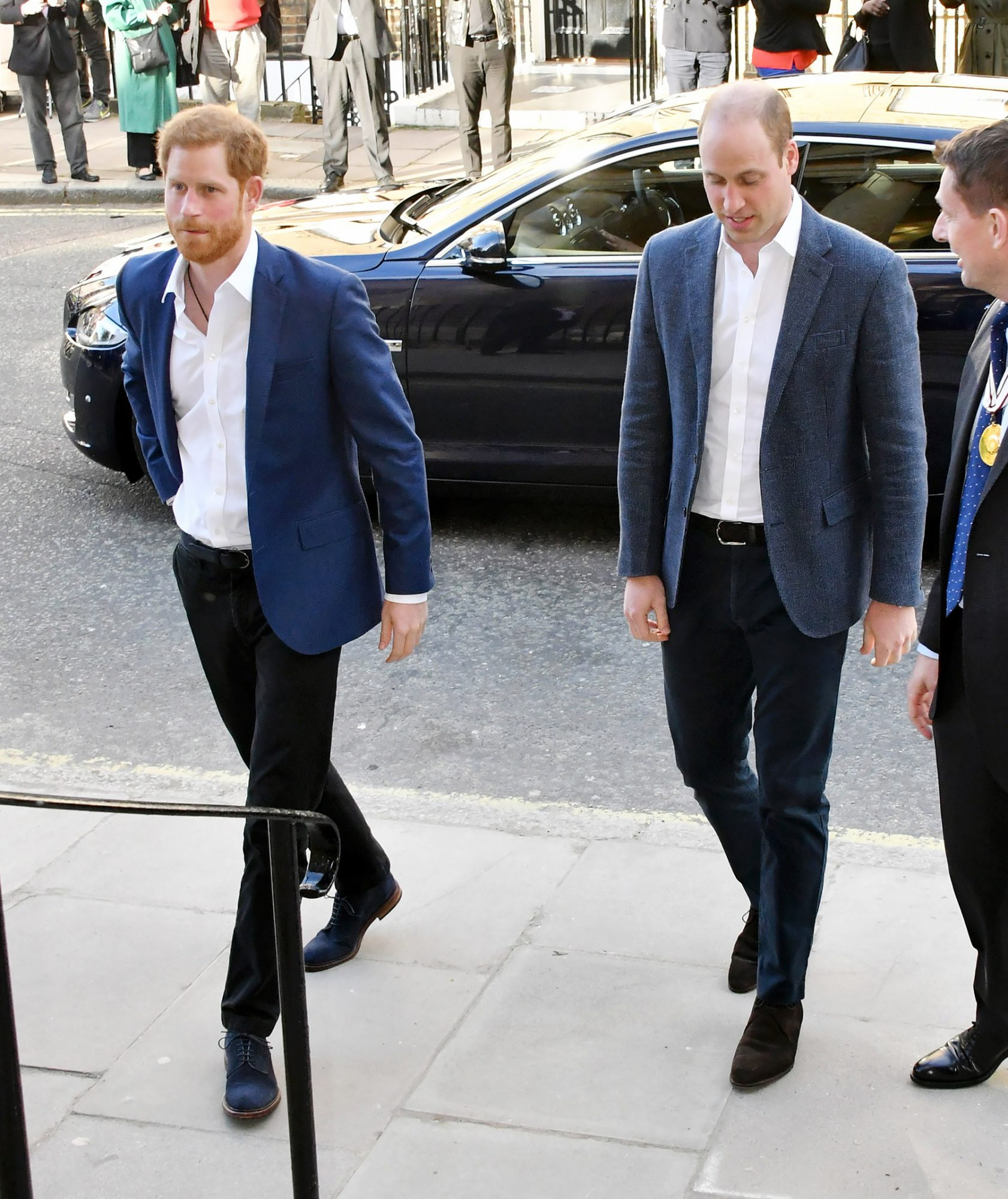Prince Harry opens the Greenhouse Sports Centre, London, UK - 26 Apr 2018