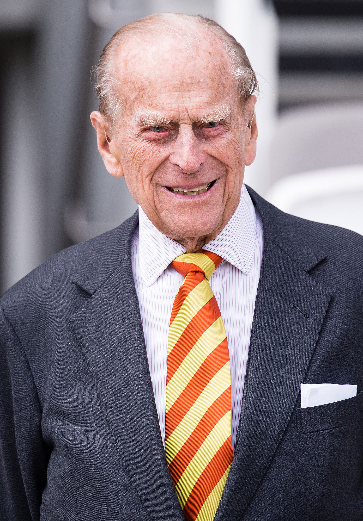 The Duke Of Edinburgh Opens New Warner Stand At Lord's Cricket Ground