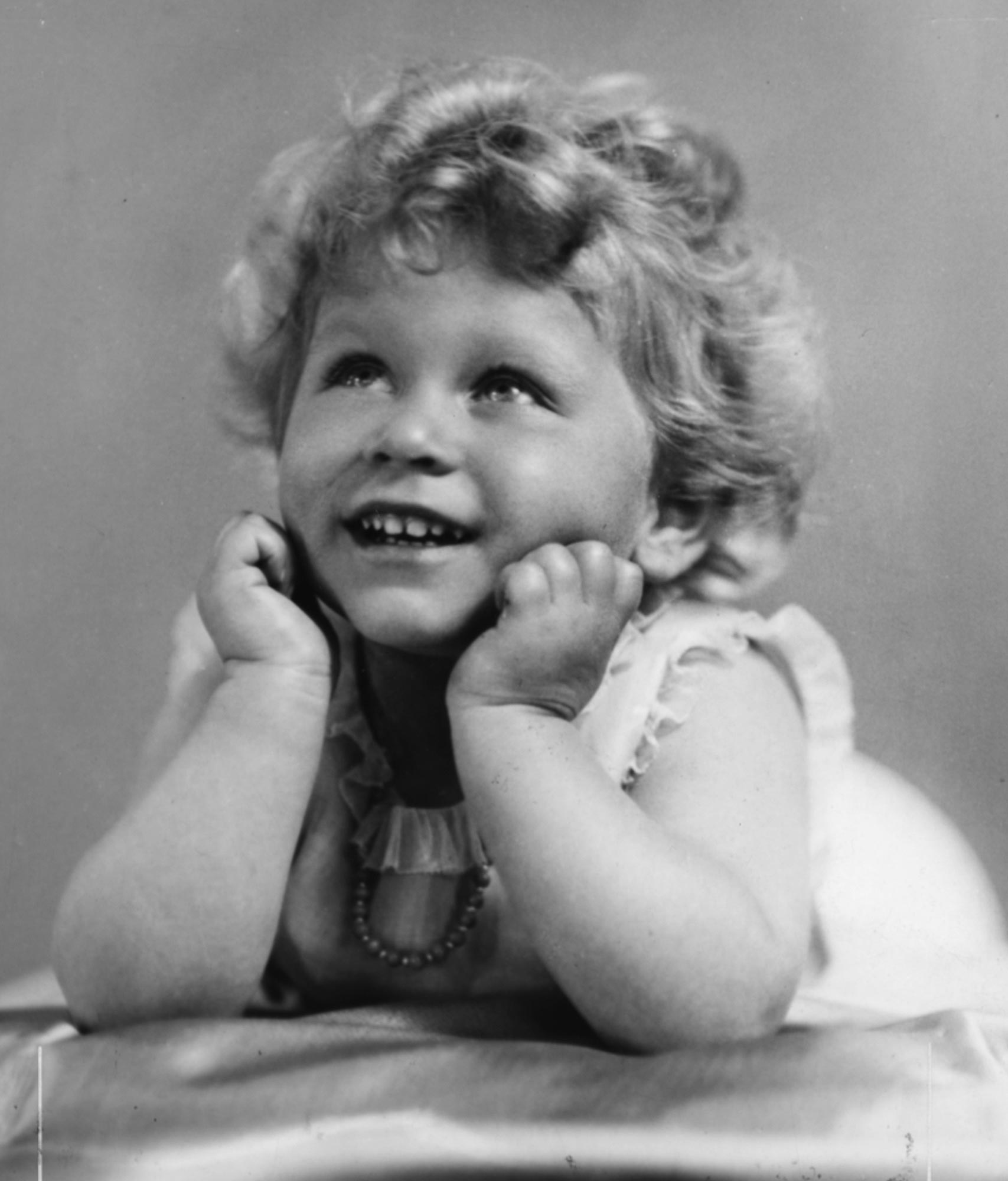 Childhood Portrait Of Queen Elizabeth II